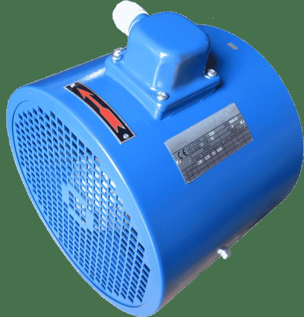 externé chladenie na elektromotor