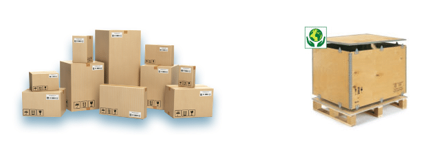 balíková a paletová preprava